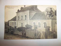 2qnu - CPA  - VOUVRAY SUR LOIR - Mairie Et école -  [72] - Sarthe - Sonstige Gemeinden