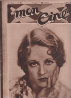 MON CINE 6 08 1931 - WYNNE GIBSON - CLARA BOW - JOINVILLE - CINEMA JAPON - FILMS ANIMAUX - L´AFFAIRE BURTON - DREYFUS - - Magazines