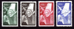 A2249) China Taiwan Mi.308-311 Unused (*) MNH - 1945-... Republik China