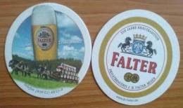 Privatbrauerei J.B. Falter, Regen, Bavaria, Germany - NEW Beer Mat - Sous-bocks