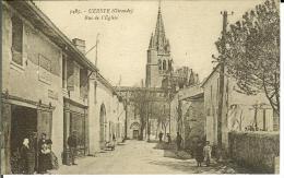 CPA  UZESTE, Rue De L'Eglise  8683 - Altri Comuni