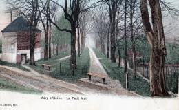 MERY SUR SEINE - LE PETIT MAIL - BELLE CARTE - COULEUR -  TOP !!! - Otros Municipios