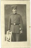 Wk1914 -(1 Carte Photo)Aschaffenburg -  Portrait DEutsche Soldaten - War 1914-18