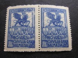 Italia 1947 Emissioni Locali / Emission Locale Pro Venezia Giulia E Dalmazia ** MNH - Sonstige