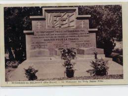 52  BUSSIERES Lès BELMONT  -  Monument Des Trois Jeunes Filles .  Résistance , F.F.I. - Altri Comuni