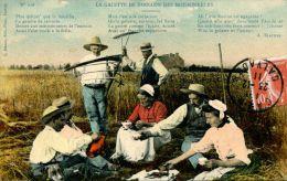 N°34066 -cpa La Galette De Sarrasin Des Moissonneurs- - Cultures