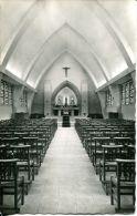 N°34071 -cpsm église St Germain La Maladrerie -nef Et Maître Autel- - Caen