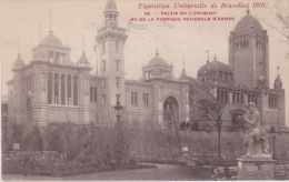 Exposition Universelle De Brux. 1910. Palais De L' Uruguay Et De La Fabrication Nationale D'Armes. - Expositions Universelles
