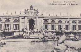 Exposition Universelle De Bruxelles 1910. - La Façade Principale Et Le Quadrige. - Expositions Universelles