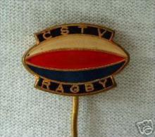 Sport Pin Badge Rugby CSTV Czech  / Czechoslovakia - Rugby