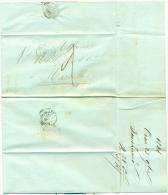 France - Précurseur De Oran (Algérie) Vers Marseille Du 10/11/1846, Cachet Marseille Verso, Décimes, See Scan - Poststempel (Briefe)