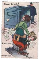 """""""Ouvrez La Boite Et Vous Verrez BUGEAT-CP A Systeme Avec Depliant- - Autres Communes"""