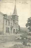 L' AUVERGNE PITTORESQUE 63  CHASTREIX  Cpa  Place De L' Eglise - Autres Communes