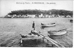 (83) - Environs De Toulon : St MANDRIER  : Vue Générale   -  CPA  -  Excellent état  - - Saint-Mandrier-sur-Mer