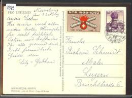 FORMAT 10x15 - TIMBRE MILITAIRE - ARMEE SUISSE - CP CAN LST 5  - TB - Suisse