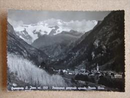 Ao1197)  Gressoney S. Jean - Panorama Generale Sfondo Monte Rosa - Altre Città