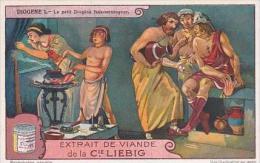 Liebig Vintage Trade Card S1205 Diogenes No 1 Le Petit Diogene Faux-monnayeur - Liebig