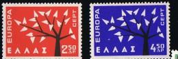 1962  Europa  Série Compléte  ** MNH