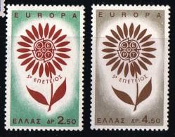 1964  Europa  Série Compléte  ** MNH - Greece