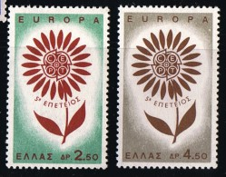 1964  Europa  Série Compléte  ** MNH
