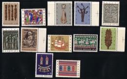 1966  Art Populaire    Série Complète  ** MNH