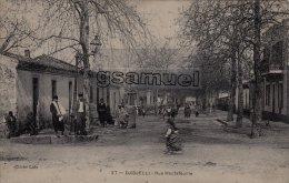 Algérie - DJIDJELLI - Rue Hautefeuille - (Cliché Lalo). - ( Voir Scan Recto-verso ). - Algérie