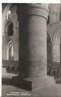 Nottinghamshire Postcard - Norman Pillar - Southwell Minster - Real Photograph  MP1296 - Nottingham