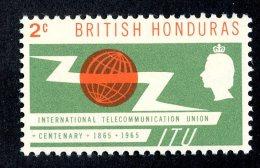 3047x)  Br. Honduras  1965 - SG# 224 ~     ~ Mnh** - British Honduras (...-1970)