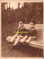 ANCIENNE PHOTO ENFANT GARCON  MARIN   ** VINTAGE AMATEUR  SHOT CHILD BOY SAILOR - Persone Anonimi