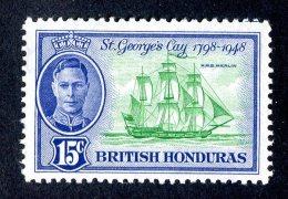 3067x)  Br. Honduras  1949 - SG# 171 ~ Sc# 136    ~ M* - British Honduras (...-1970)