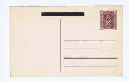 Postal Stationary Postcard Sosnowiec Fisher  CP2 Not Used - ....-1919 Provisional Government