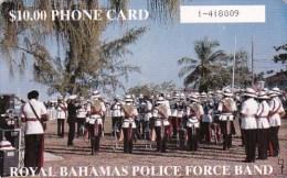 Bahamas, BHS-C-06c,Royal Police Force Band, 2 Scans.   Please Read. - Bahamas