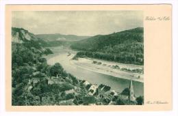 I784 Blick Vom Wehlen An Der Elbe / Non Viaggiata - Wehlen