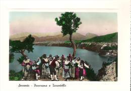 CAM127 - SORRENTO : Panorama E Tarantella - Battipaglia