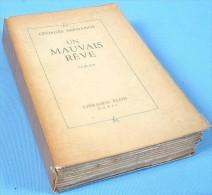 """Édition Originale Numérotée De """"UN MAUVAIS RÊVE"""" De Georges Bernanos / Avec Ses 5 Fac-similés Dépliants - Culture"""