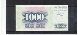Narodna Banka Bosne I  Hercegovine , 1000 Dinara ,  Pick #15 - Bosnien-Herzegowina