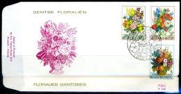 (B) 1966/1968 FDC 1980 - Gentse Floraliën VI. - 1971-80