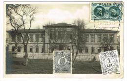 "Photo Carte ""Liceul Nicu Gane"" - Rumania"