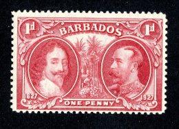 3182x)  Barbados 1927 - SG# 240 ~ Sc# 180  M* - Barbades (...-1966)