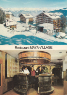 Les Collons : Restaurant Maya Village -  Cp.10 X 15 - VS Valais
