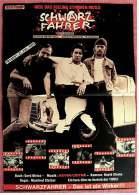 Kleines Musik-Poster  -  Gruppe Schwarzfahrer  -  Rückseite : Jutta Speidel / Herbert Herrman  -  Von Pop Rocky Ca. 1982 - Plakate & Poster