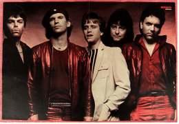 Kleines Musik Poster  -  Gruppe Suvivor  -  Rückseite : Adam Ant  -  Von Bravo Ca. 1982 - Plakate & Poster