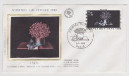 JOURNEE DU TIMBRE 1980 - PARIS - FDC