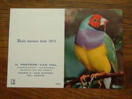 H. PEETERS - VAN HAL Laureaat Van Den Arbeid MORTSEL- 1975 ( Details Zie Foto ) ! - Calendriers