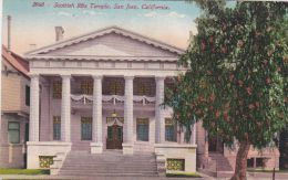 Cp , ETATS-UNIS , SAN JOSE , Scottish Rite Temple - San Jose