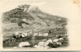 CPA 38 ROUTE DE LA GRANDE CHARTREUSE LE SAPPEY ET CHAMECHAUDE Dos Simple - Autres Communes
