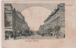 AK - Bucuresti (Bukarest) - Bulevardul Elisabeta - Leute Beim Flanieren 1906 - Romania
