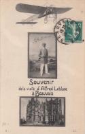 60 - BEAUVAIS AVIATION / SOUVENIR DE LA VISITE D'ALFRED LEBLANC - Beauvais
