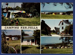 29 PLOMODIERN Camping Ker-Vella Polebret-Plage 6 Vues - Animée - Plomodiern