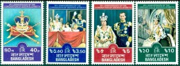 BANGLADESH 1978 25th Anniv Of Coronation Set (4v), XF MNH - Bangladesh